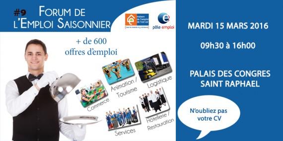 forum emploi saisonnier 2016